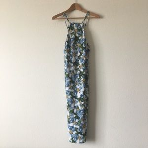 NWOT American apparel floral midi dress size small